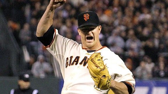 fuck the cards screams Matt Cain